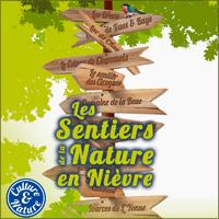 Affiche Les Sentiers de la Nature en Nièvre