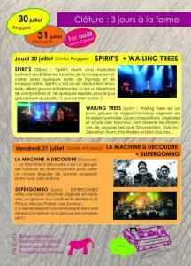 Festival des perthuis