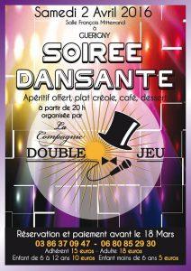 Soirée Créole avec la Compagnie Double Jeu