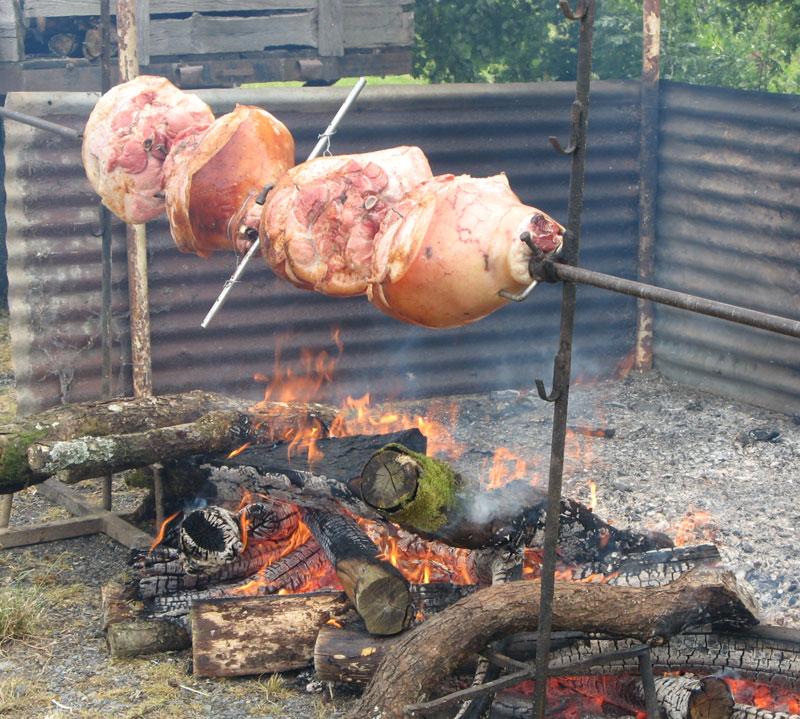 Jambon braisé de la fête de la Saint Jean a millay